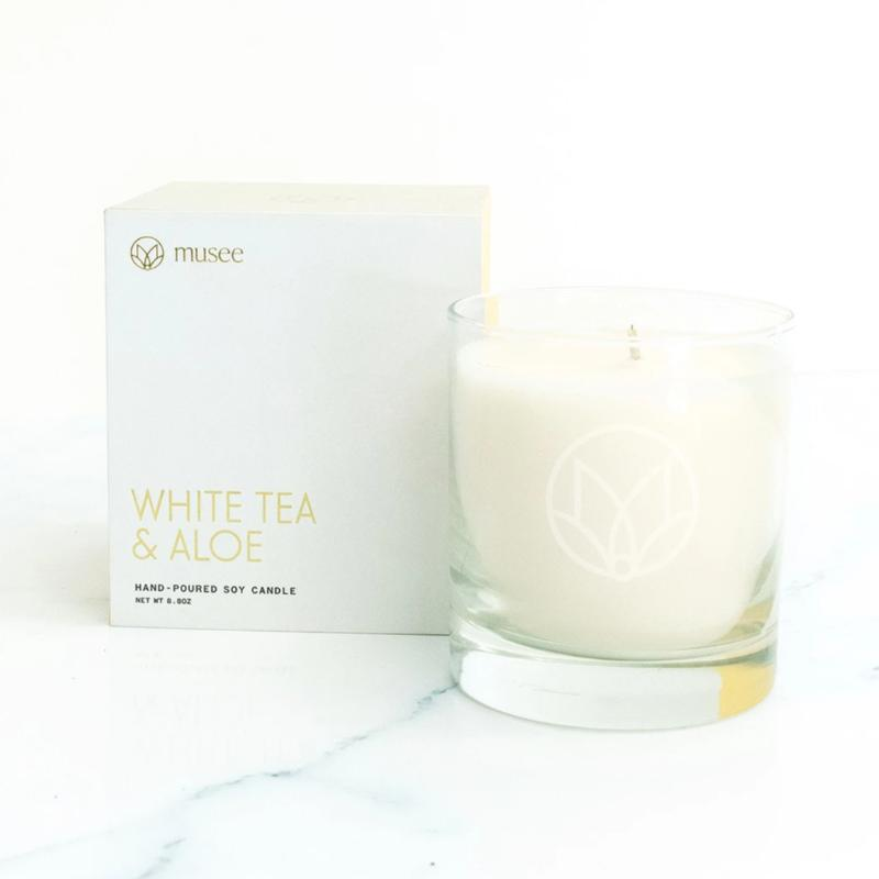 Candle | White Tea and Aloe