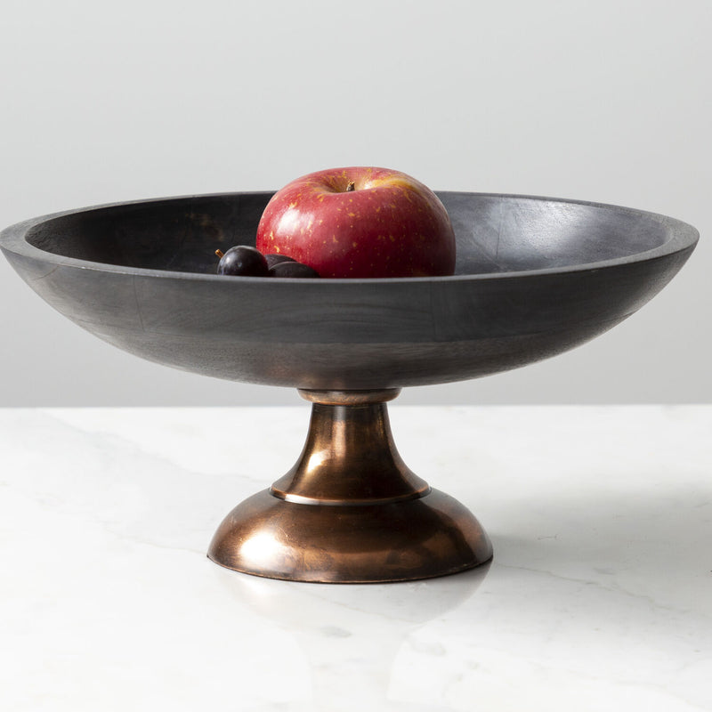Dark Wash Coupe Pedestal