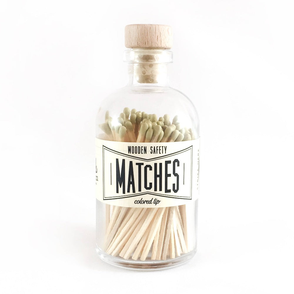 Gold Vintage Apothecary Matches
