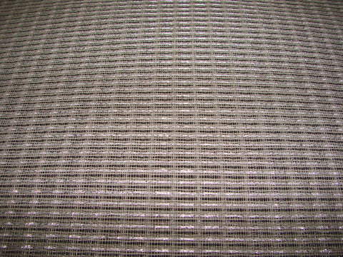 Vintage Fender silver/white black grill cloth