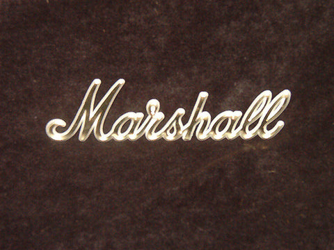 Marshall Gold logo, 6 Inches long