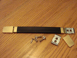 Marshall strap handle with metal end caps. Two colors available.