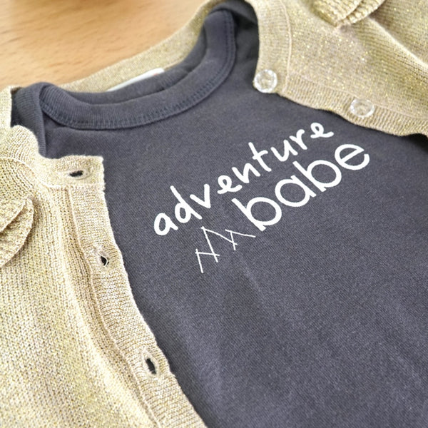 Adventure Babe Infant Onesie