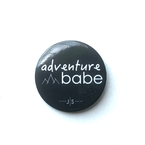 Adventure Babe Button