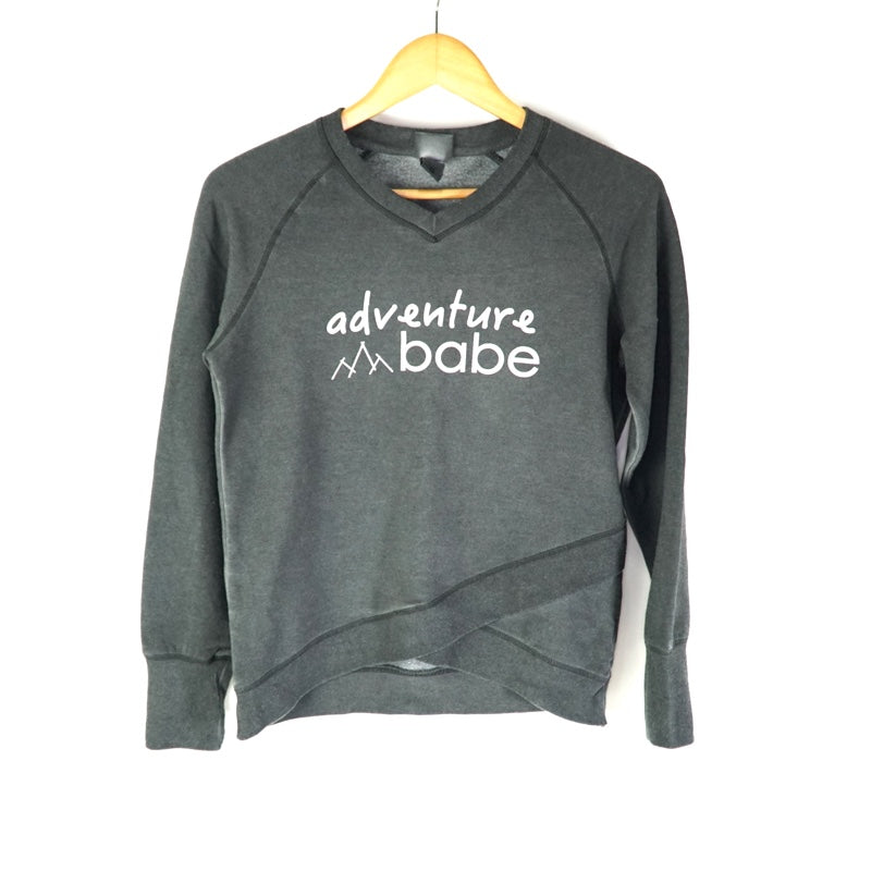 national park sweater yoga hiker adventure babe workout sweatshirt