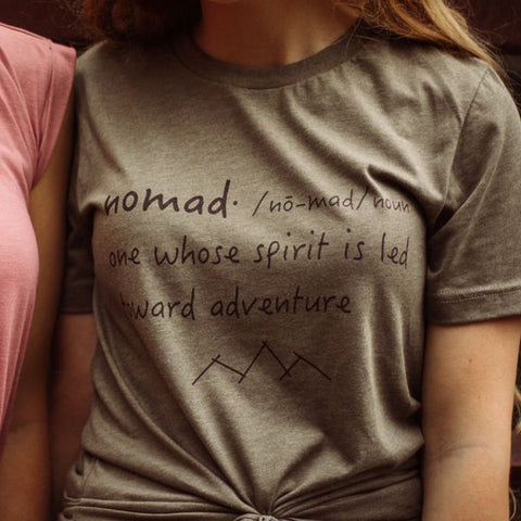 Nomad Definition Weathered Tshirt