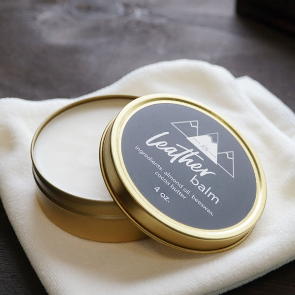 Leather Balm 4oz Tin