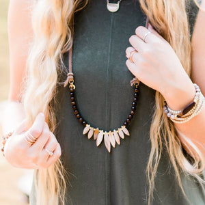 Petrified Forest | Spike Necklace