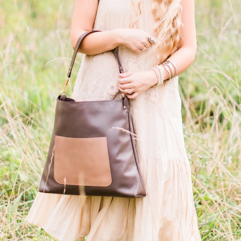 Modern Handcrafted Leather Handbag | Large