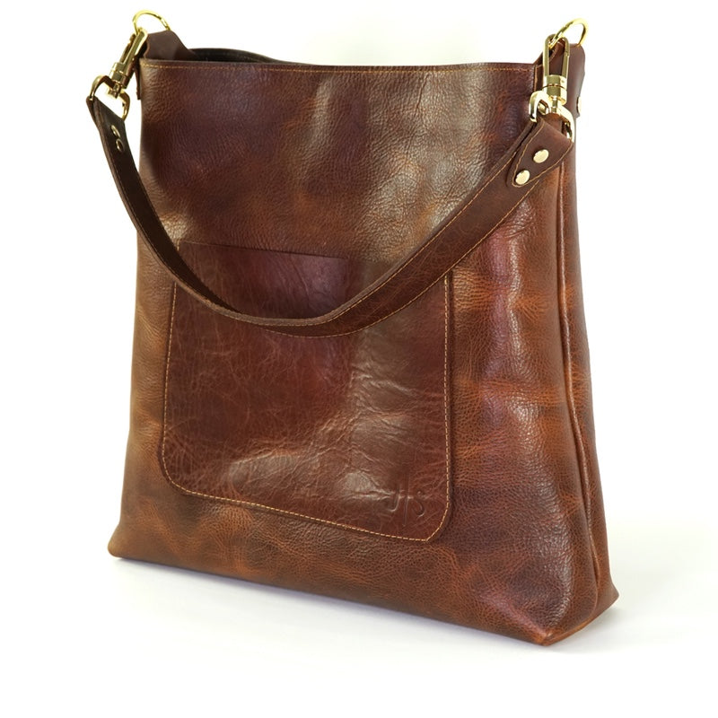 handcrafted leather handbag for women