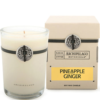 Pineapple Ginger Boxed Candle