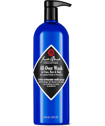 All-Over Wash for  Face, Hair & Body 33 oz