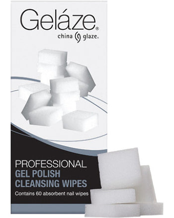 Gelaze Professional Gel Polish Cleansing Wipes 60 Ct
