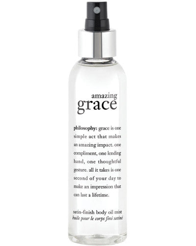 Amazing Grace Satin-Finish Body Oil Mist 5 oz