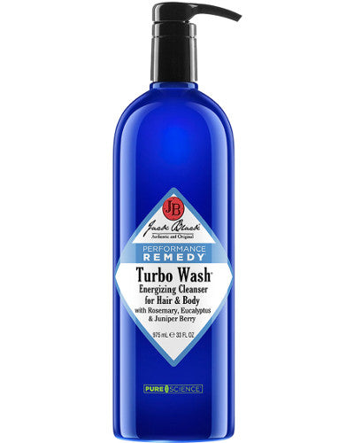 Turbo Wash Energizing Cleanser for Hair & Body Liter 33 oz
