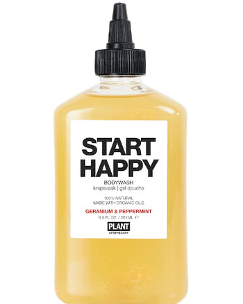 START HAPPY ORGANIC BODY WASH 9.5 oz