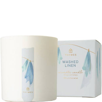 Washed Linen Poured Candle 8 oz