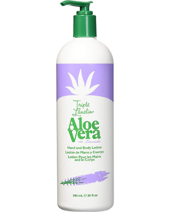 Aloe Vera with Lavender Hand and Body Lotion 20 oz