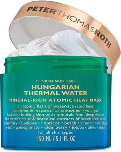 Hungarian Thermal Water Mineral-Rich Atomic Heat Mask 5.1 oz