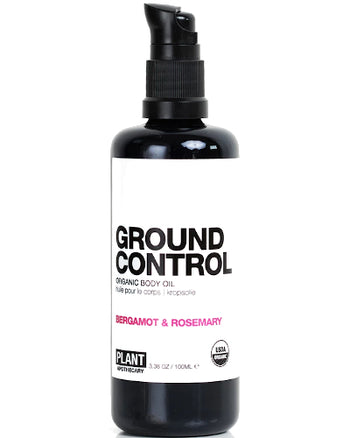 GROUND CONTROL ORGANIC BODY OIL 3.4 oz