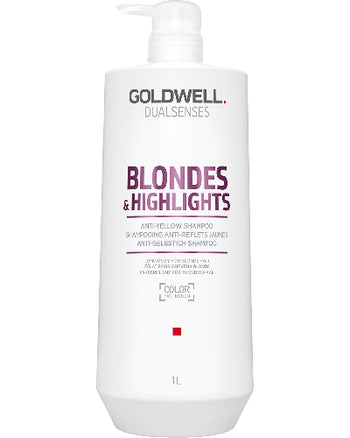 Dualsenses Blondes & Highlights Anti-Yellow Shampoo Liter 33.8 oz