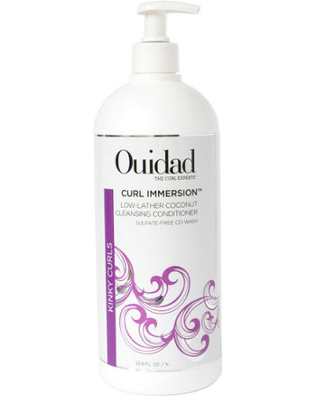 Curl Immersion Low-Lather Coconut Cleansing Conditioner 16 oz