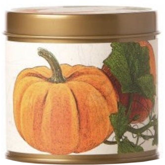 Pumpkin Farmhouse Signature Tin Candle 8 oz