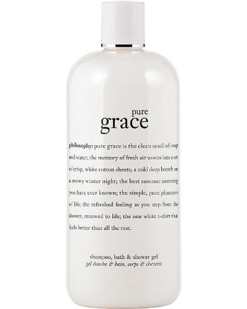Pure Grace Shampoo, Bath & Shower Gel 16 oz