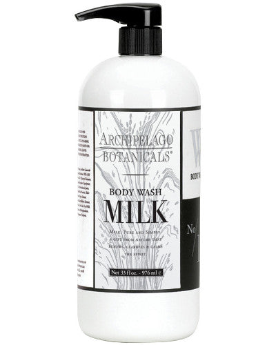 Milk Body Wash Liter 33 oz
