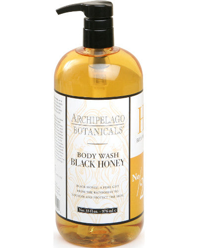 Black Honey Body Wash Liter 33 oz
