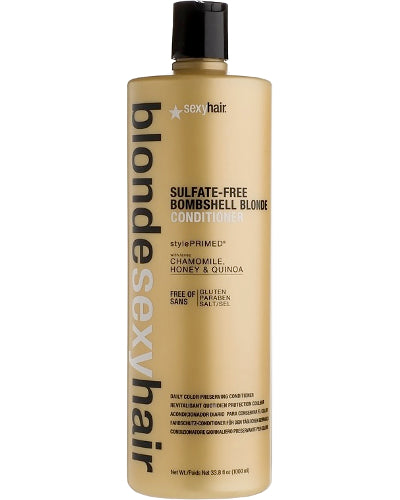 Blonde Sexy Hair Sulfate-Free Bombshell Blonde Conditioner Liter 33.8 oz