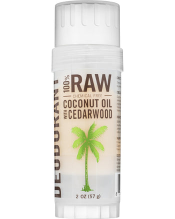 Raw Deodorant Cedarwood 2 oz
