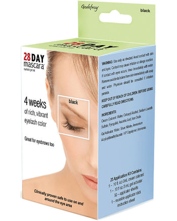 28 Day Mascara Black 25 Application Kit