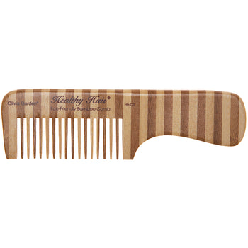 Healthy Hair Eco-Friendly Bamboo Comb HH-C3