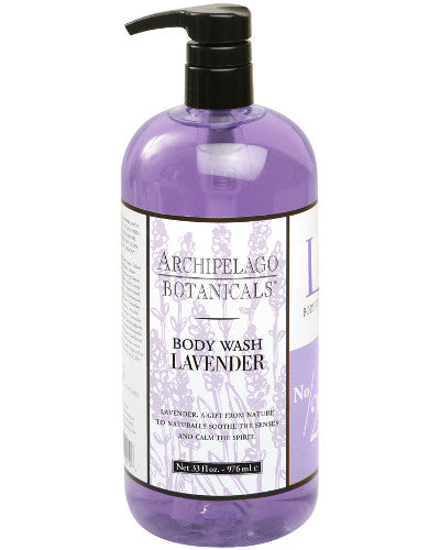 Lavender Body Wash Liter 33 oz