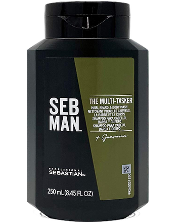 THE MULTI-TASKER 3 in 1 Hair Beard and Body Wash 8.4 oz
