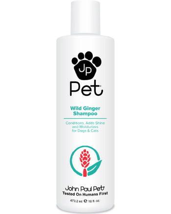 John Paul Pet Wild Ginger Shampoo 16 oz