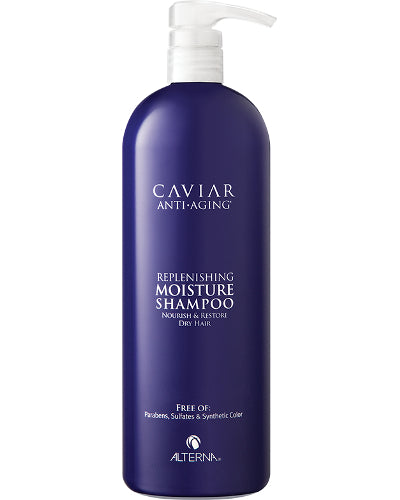 Caviar Replenishing Moisture Shampoo Liter 33.8 oz