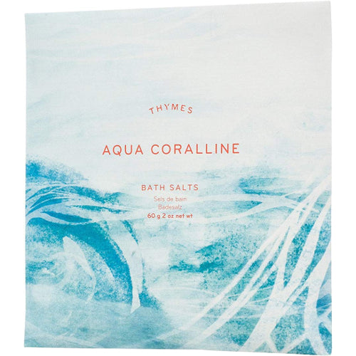 Aqua Coralline Bath Salts 2 oz