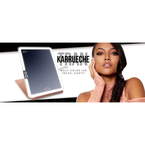 Karrueche x Vanity Girl Hollywood Travel Vanity Pop Up Mirror