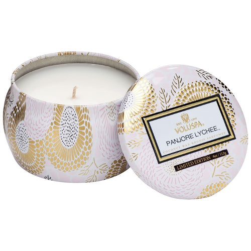 Panjore Lychee Petite Decorative Candle 4 oz