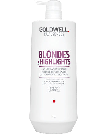 Dualsenses Blondes & Highlights Anti-Yellow Conditioner Liter 33.8 oz