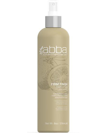 ABBA Firm Finish Hair Spray (non-aerosol) 8 oz