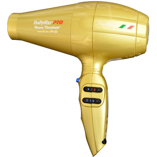 Nano Titanium Portofino Dryer Gold