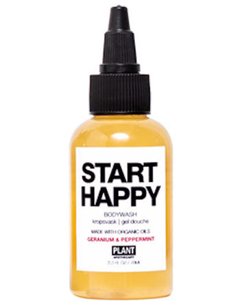START HAPPY ORGANIC BODY WASH 2.3 oz