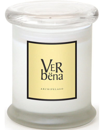 Verbena Frosted Jar Candle 8.6 oz