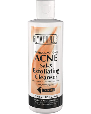 Serious Action Sal-X Exfoliating Cleanser 8 oz