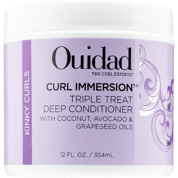 Curl Immersion Triple Treat Deep Conditioner 12 oz