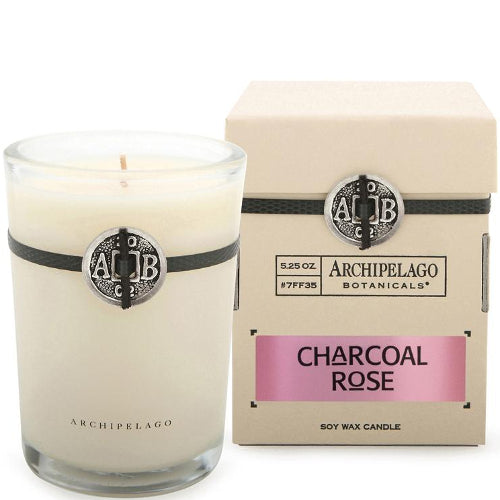 Charcoal Rose Boxed Candle 5.2 oz
