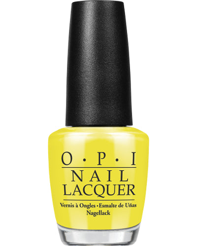 Nail Lacquer No Faux Yellow 0.5 oz